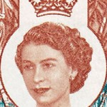 1962 Queen Elizabeth Harrington Portrait
