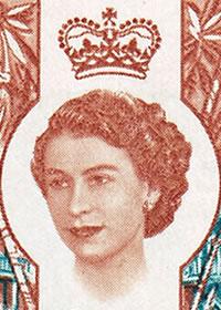 1962 Queen Elizabeth Harrington Portrait