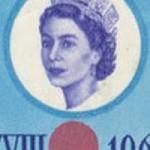 1964 Queen Elizabeth II Olympics Portrait