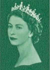 1966 Queen Elizabeth II Churchill Portrait