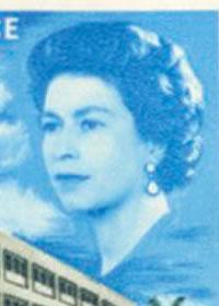 1966 Queen Elizabeth II New GPO Portrait