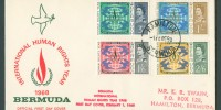 1968 International Human Rights Year FDC