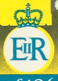 1968 Queen Elizabeth II New Constitution Cypher
