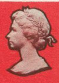 1969 Queen Elizabeth II Girl Guides Cameo