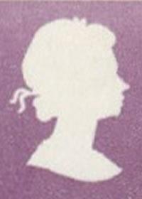 1970 Bermuda Queen Elizabeth II Defininitves Cameo silhouette