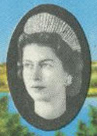 1971 Queen Elizabeth II portrait