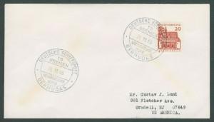 1966 TS Bremen Deutsche Bundespost Paquetbot