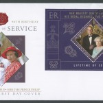 2011 Lifetime of Service Miniature Sheet FDC