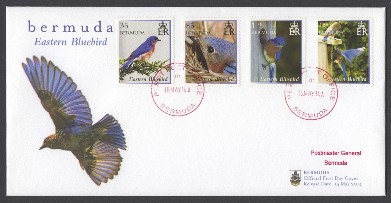 2014 Eastern Bluebird FDC