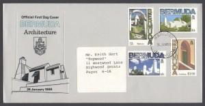 1985 Bermuda Architecture FDC