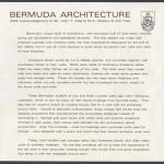 1985 Bermuda Architecture insert FDC