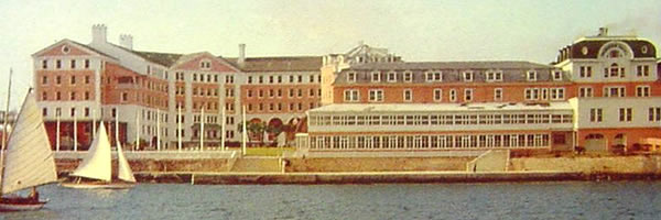 Princess Hotel Bermuda from  the waterfront