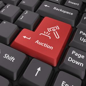 Philatelic Auctions Bid via Internet